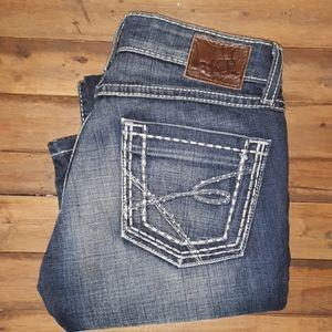 Bke stella bootcut jeans size 25×31 1/2